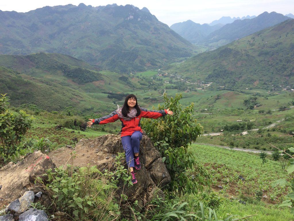 Đỉnh dốc Bắc Sum Quản Bạ, Hà Giang