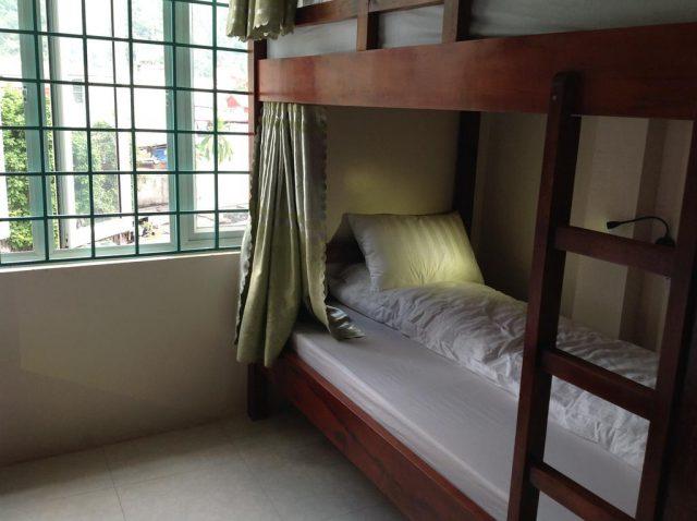 Miễn phí giường Dorm tiêu chuẩn khách sạn mini dành cho các bạn thuê xe máy tại Hà Giang 1 Hostel
