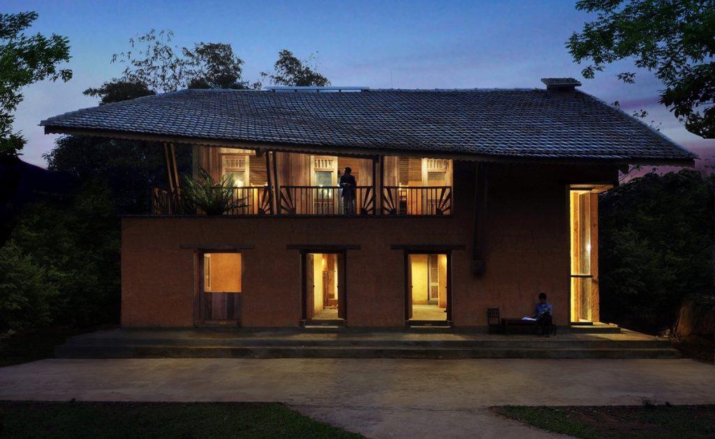 Độc đáo nét kiến trúc homestay Dao Lodge ở Nặm Đăm, Quản Bạ. Ảnh: Arch Daily