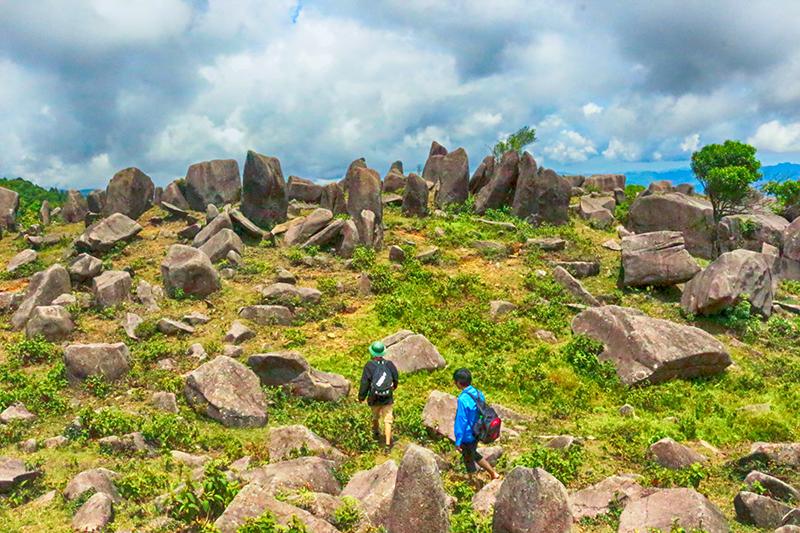 Núi Kéo Lạn- Mệnh danh là Cao Nguyên Đá Đồng Văn của, Bình Liêu, Quảng Ninh