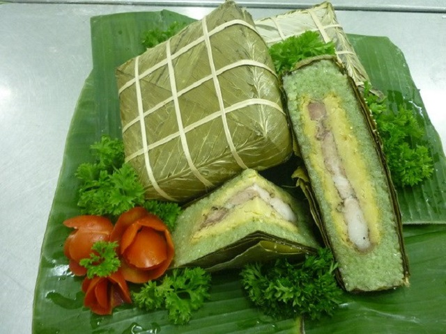 Bánh chưng Bờ Đậu đặc sản không thể bỏ qua khi đến Thái Nguyên