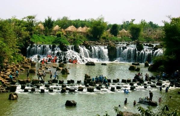thác giang điền - địa điểm du lịch Đồng Nai