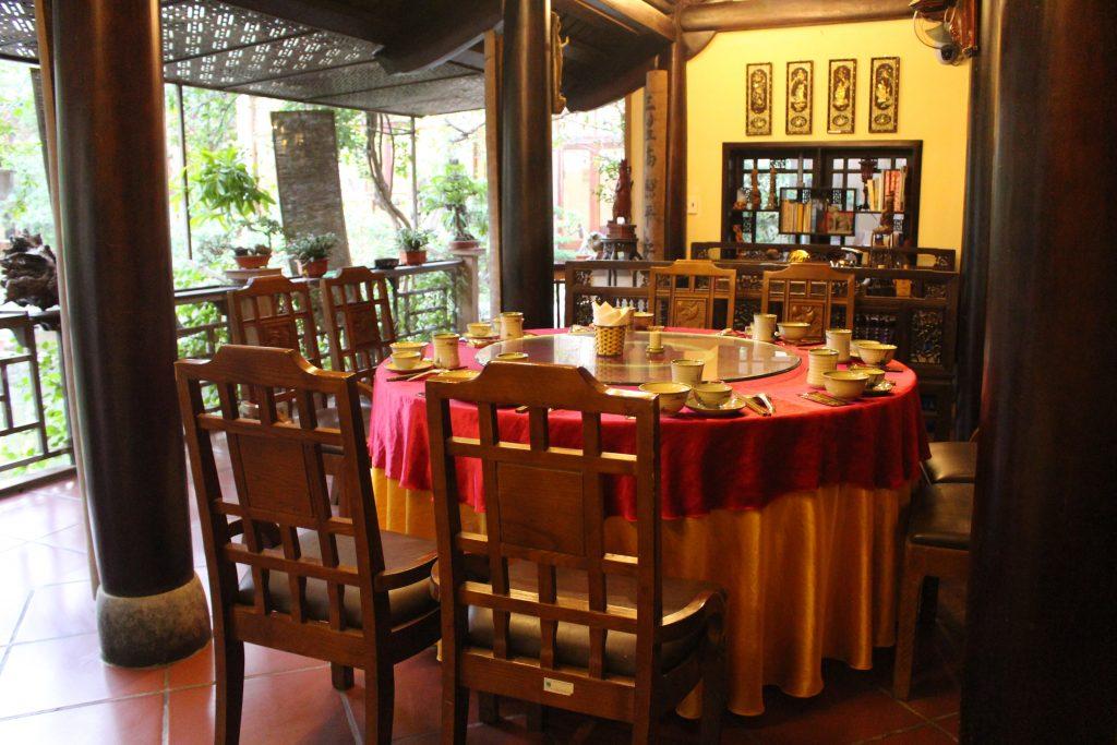 Khu nhà cổ nhà hàng Van Bảo Ngọc (Ảnh Vạn Bảo Ngọc)