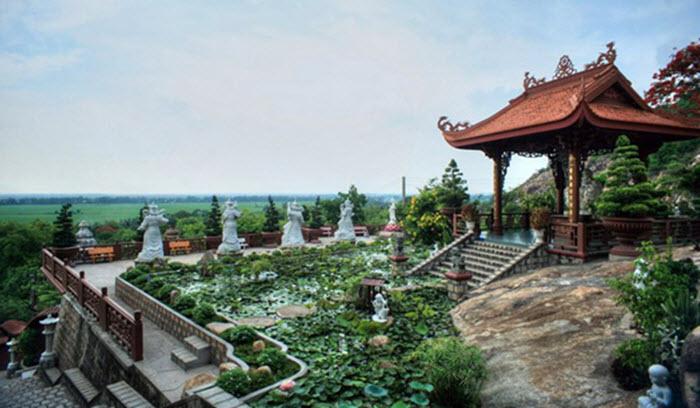 Phước điền tự - địa điểm du lịch ở An Giang