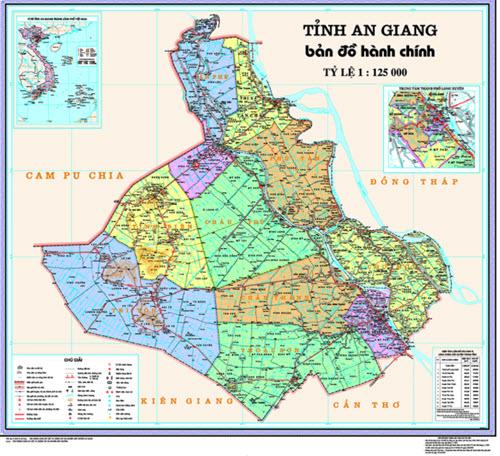 bản đồ An Giang