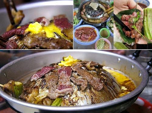 bò leo núi - món ăn phải thử khi đi du lịch An Giang