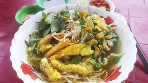 Bún cá - món ăn phải thử khi đi du lịch An Giang