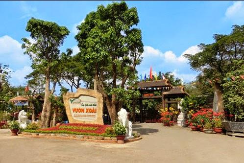 Vườn Xoài - địa điểm du lịch Đồng Nai