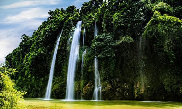 Thác Nậm Rứt Thái Nguyên, địa điểm du lịch Thái Nguyên