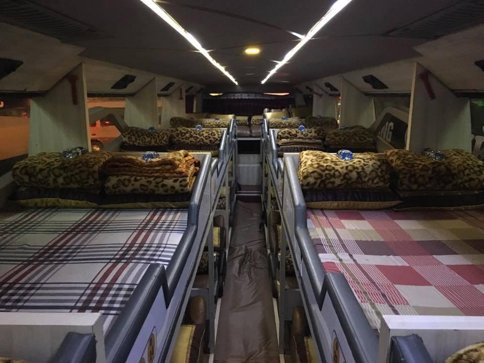 Xe giường năm Hà Nội đi Hà Giang của Hải Vân
