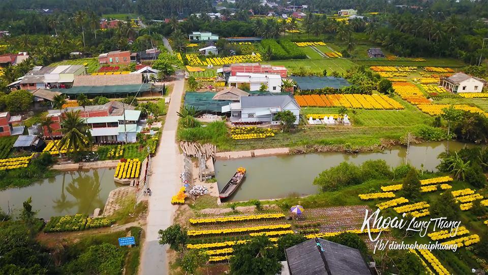 Làng Hoa Cái Mớn - Làng hoa TẾT đẹp nhất Việt Nam