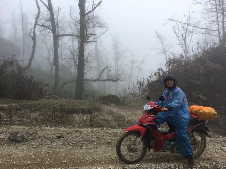 Phượt Sapa bằng xe máy là cách du lịch Sapa được nhiều người trẻ lựa chọn. Ảnh Internet