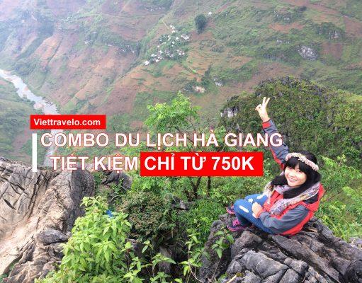 Combo tour dịch Hà Giang tự túc chỉ từ 750K