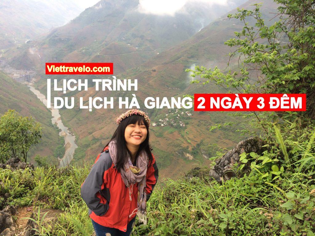 Kinh nghiệm du lịch Hà Giang lịch trình 2 ngày 3 đêm