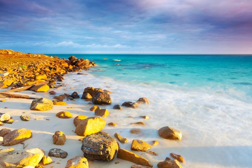 Vẻ đẹp hoang sơ ở Côn Đảo. Ảnh Internet