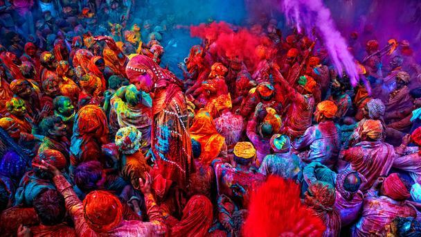 Lễ hội Holi của người Ấn Độ. Ảnh Internet