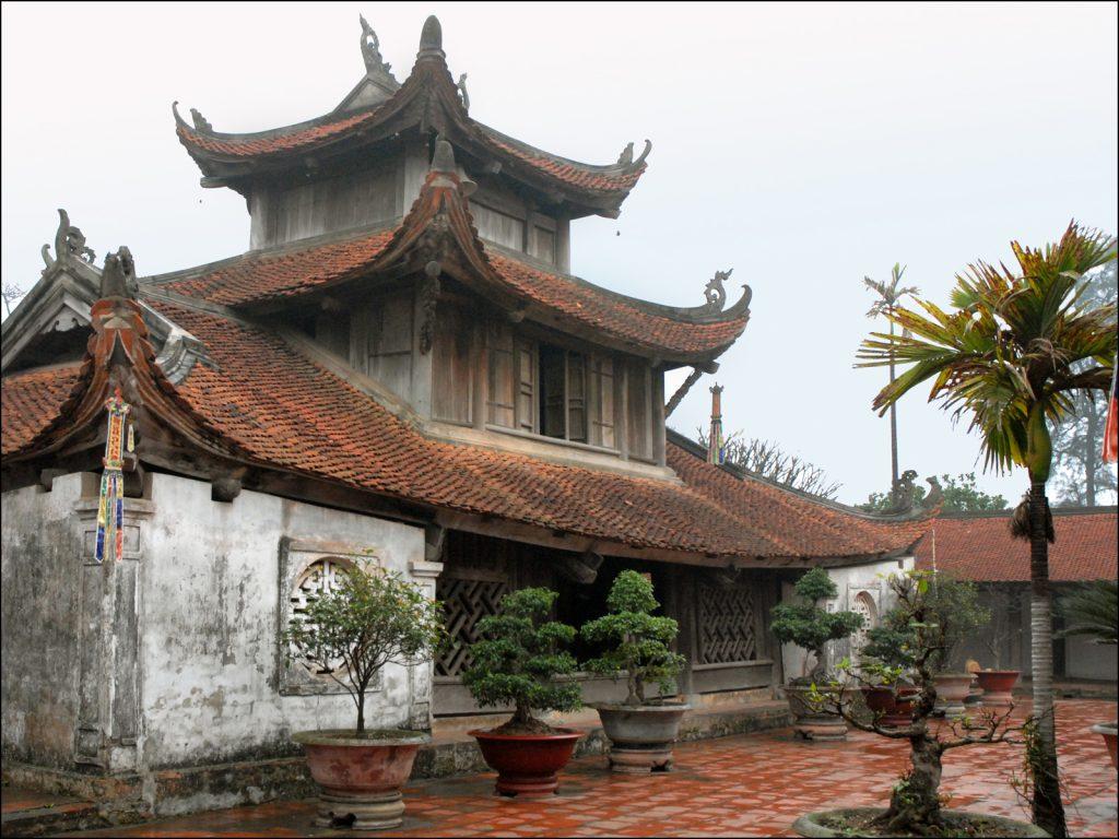 Chùa Dâu – ngôi chùa đẹp ở Việt Nam có tuổi đời lâu nhất. Ảnh Internet