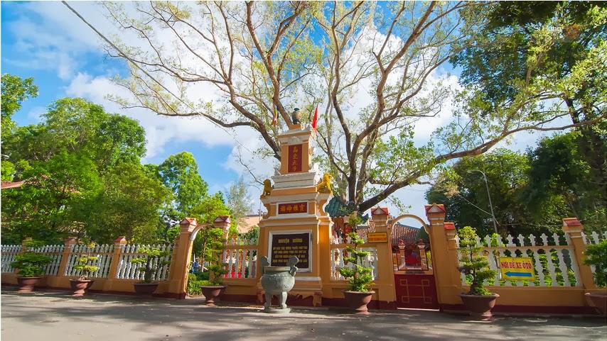 Không gian yên tĩnh, thanh bình tại chùa Giác Lâm. Ảnh Internet