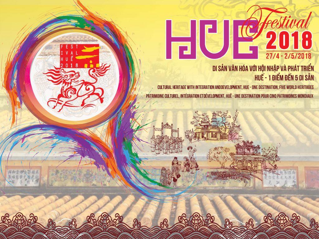 """Festival Huế 2018: """"Di sản văn hóa với hội nhập và phát triển – Huế 1 điểm đến 5 di sản"""""""