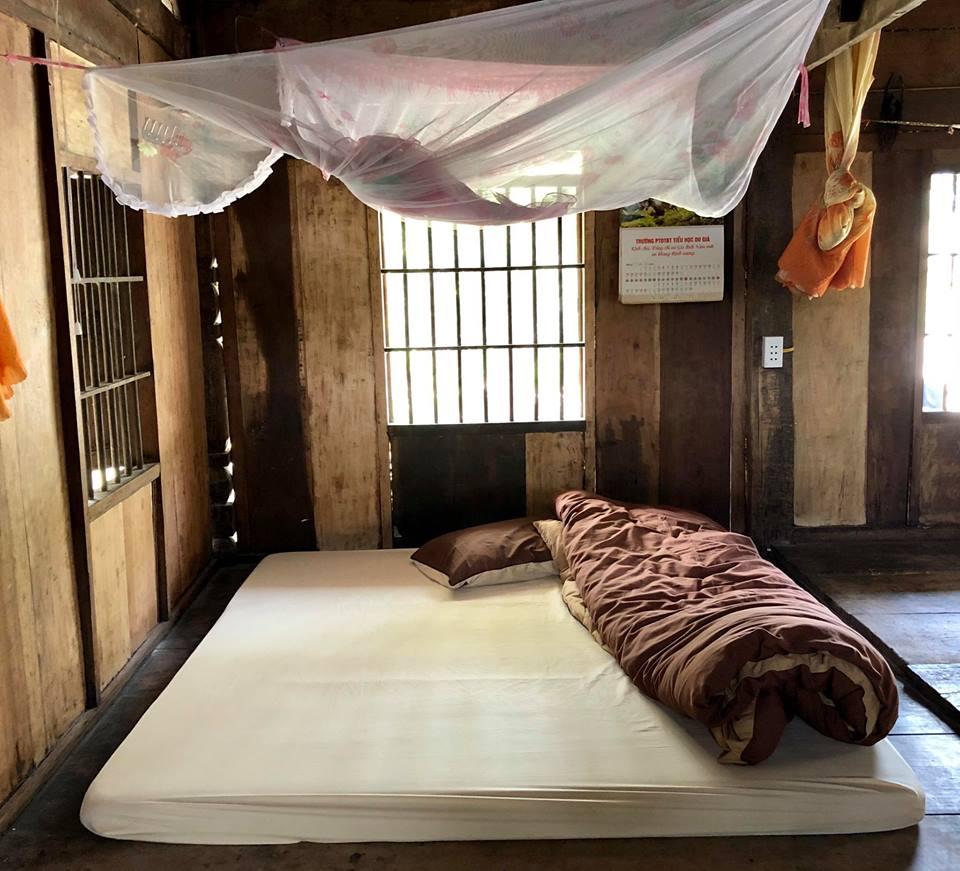 Phòng ngủ Homestay Du Già