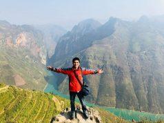 Du lịch Hà Giang trên đỉnh Mã Pì Lèng view xuống dòng Nho Quế huyền thoại