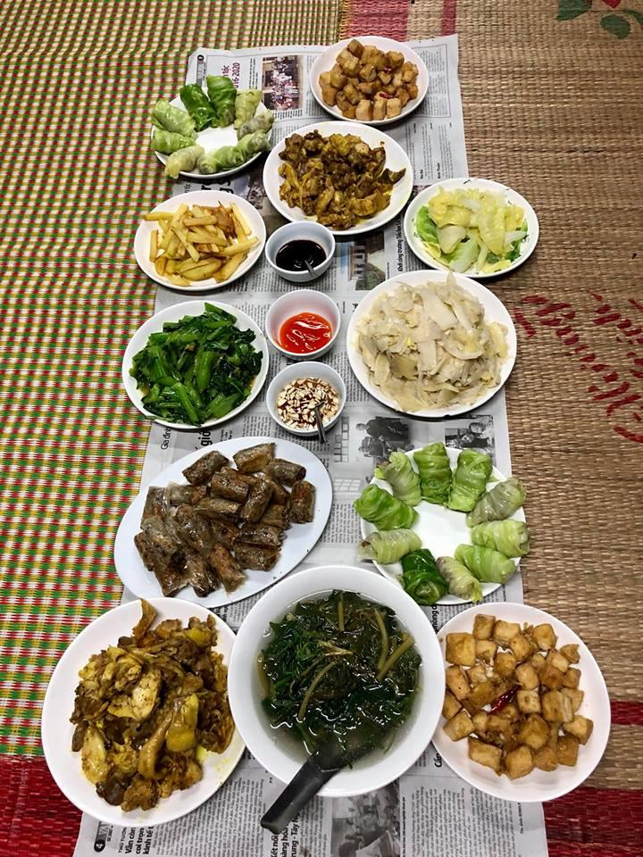 Bữa cơm rau đặc sản cùng người Tày