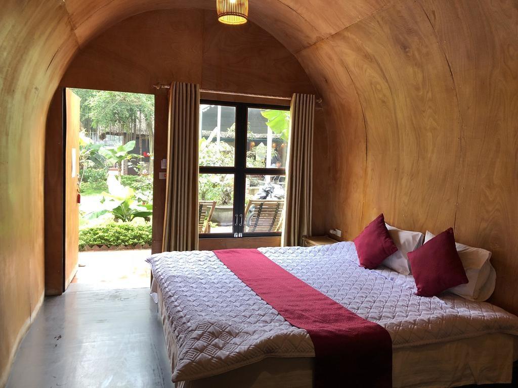 Phòng nghỉ view sông của Tam Cốc Bungalow
