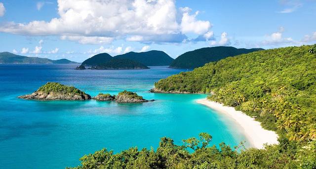 Cảnh đẹp hoang sơ ở Quan Lạn. Ảnh: FB Đảo Quan Lạn
