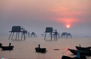 Hoàng Hôn trên biển Đồng Châu, Thái Bình