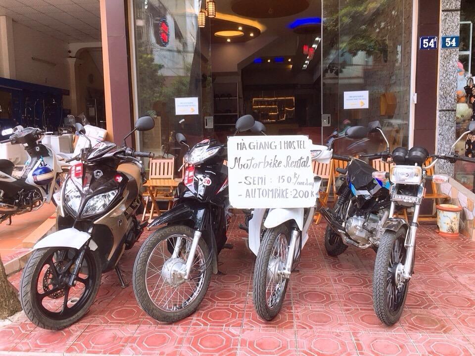 Ha Giang 1 Hostel - dịch vụ cho thuê xe máy ở Hà Giang chất lượng