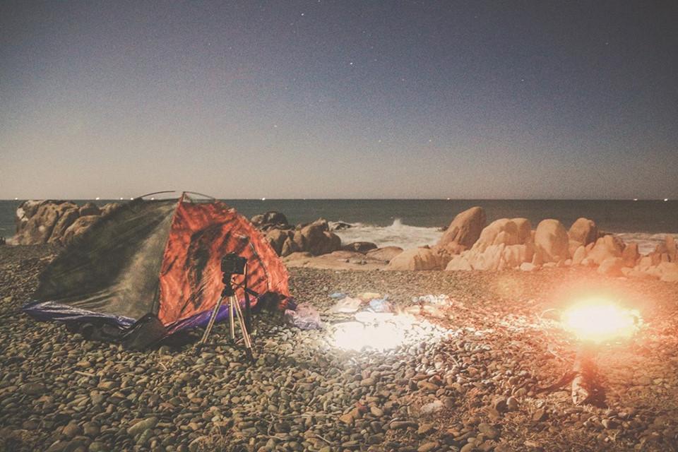 Cổ Thạch – Nơi cắm trại trên biển lý tưởng nhất Bình Thuận. Ảnh Nguyễn Trường Sơn