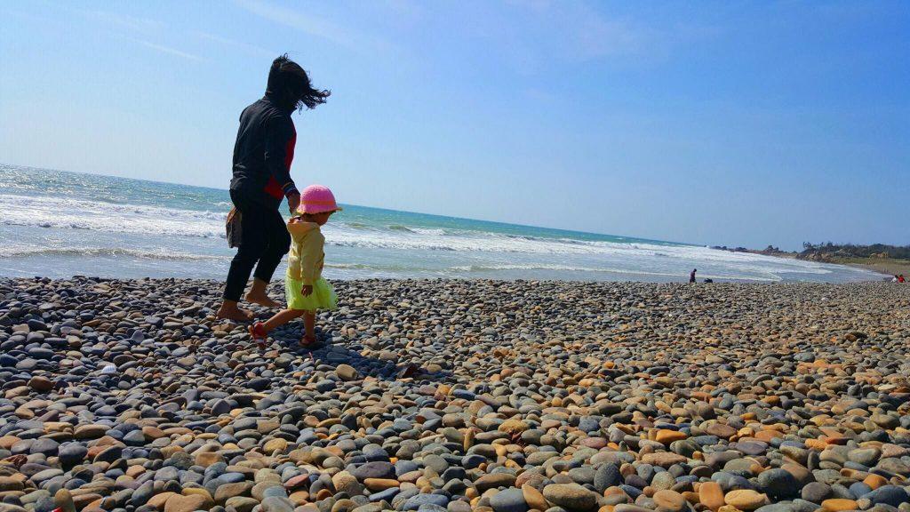 Bãi đá bảy màu biển Cổ Thạch 2019