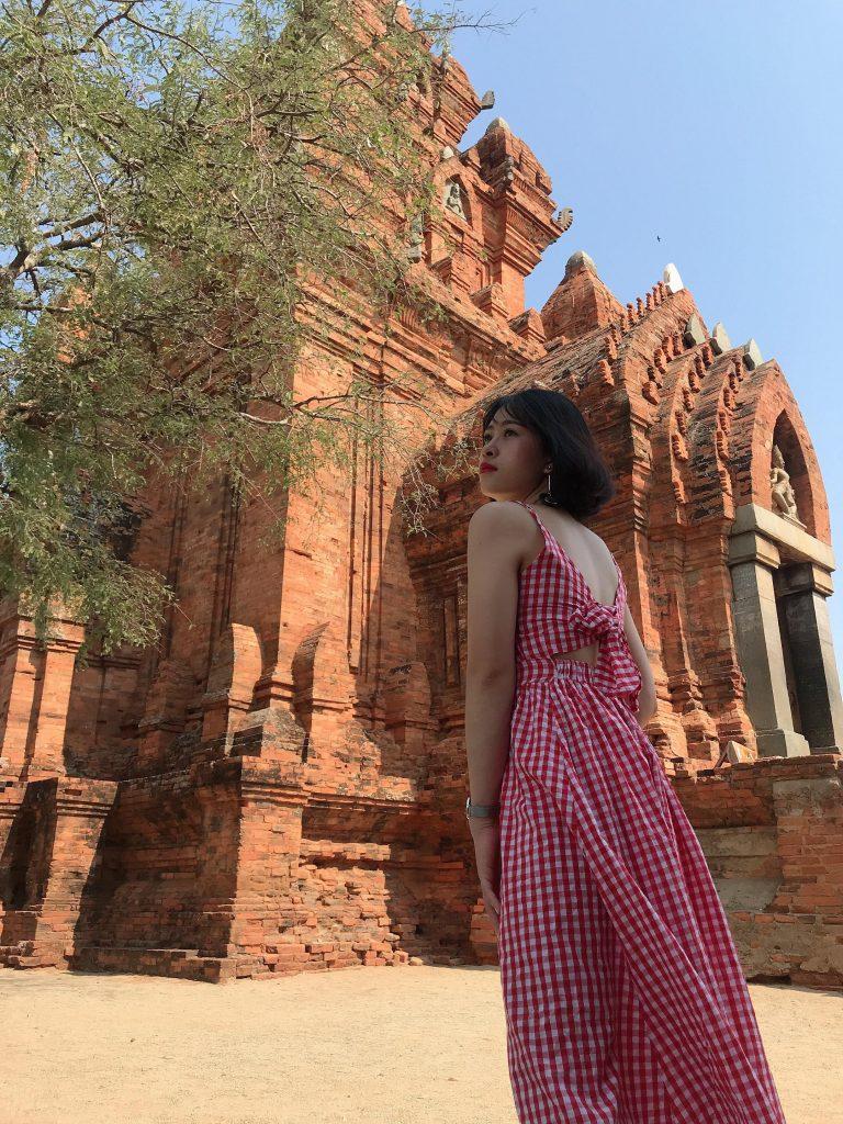 Tháp Chàm - Ảnh: fb Thảo Nguyên