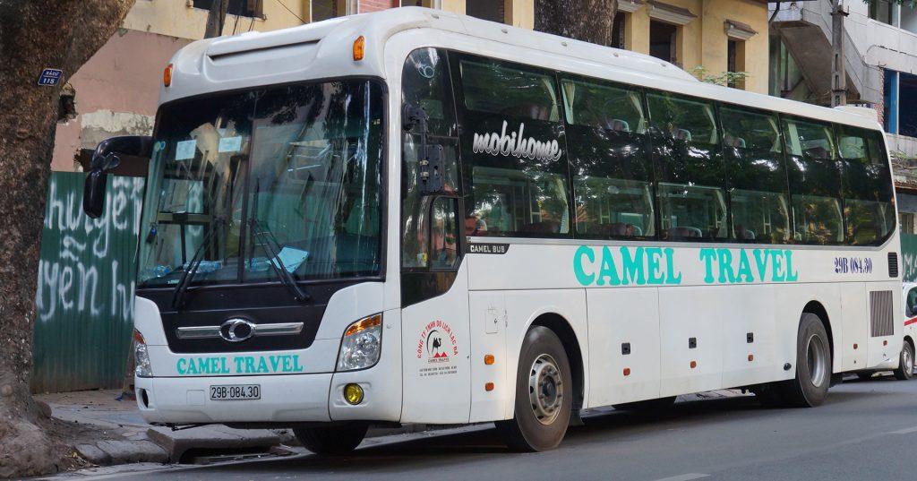 Xe khách Camel Travel đi Phong Nha