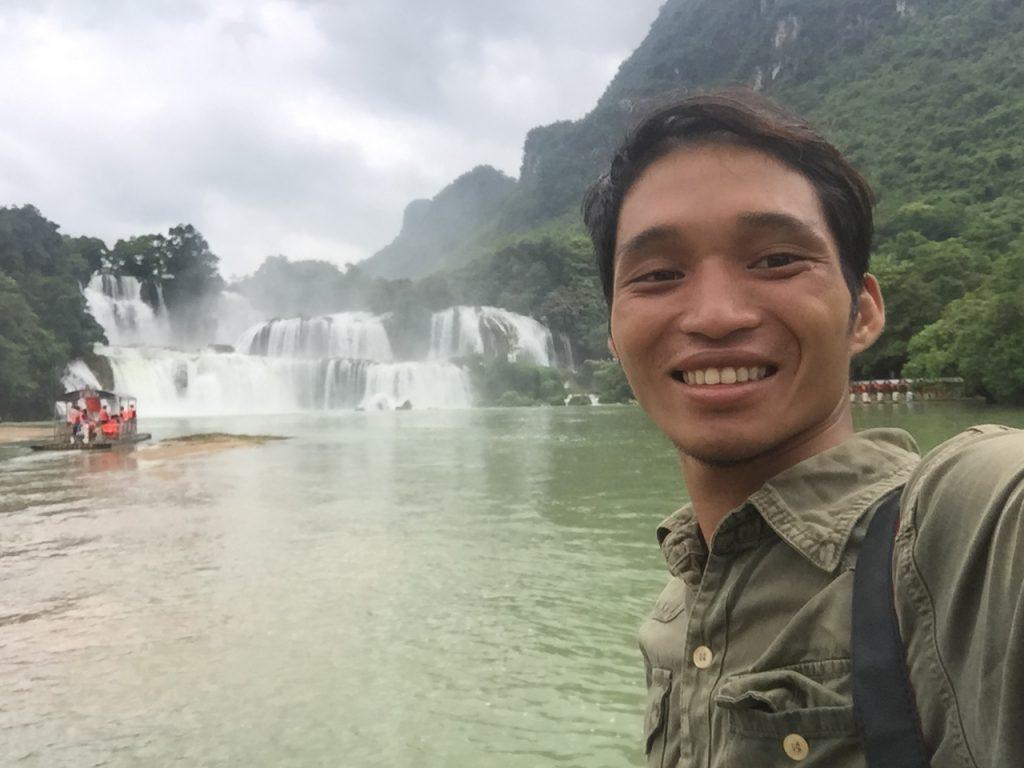 Thác Bản Giốc đầu mùa du lịch ở Cao Bằng