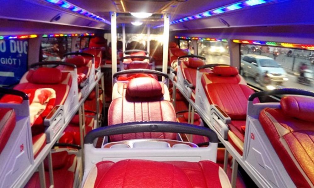 Sao Viet sleeper bus Hanoi - Sapa