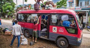 Bus Ha Giang to Cao Bang