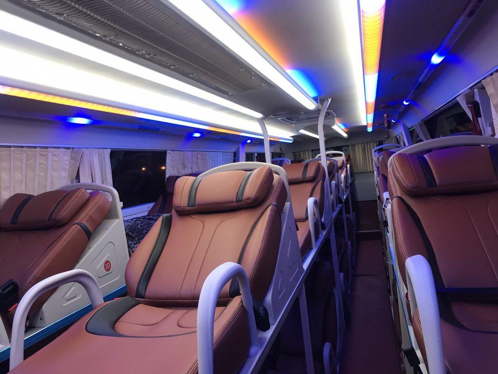 Khoang hành khách rộng hơn và tạo cảm giác thoải mái khi sử dụng
