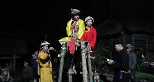 Lễ cấp sắc người Dao áo dài ở Hà Giang