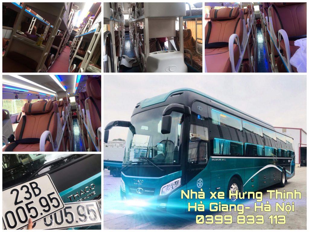 Nhà xe sử dụng dòng xe Thaco Mobihome 120SL đời 2020