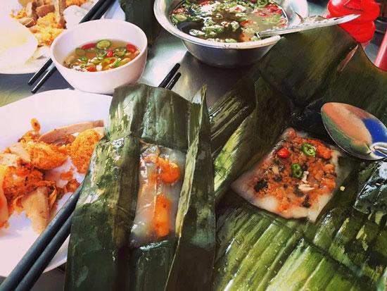 bánh bèo bánh nậm là một trong những món ăn ngon ở Huế